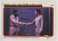 Welcoming Dr. McCoy Aboard