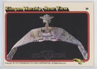 Klingon Warship - Rear View