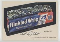 Rinkled Wrap (Two Stars)