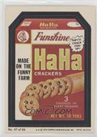 Ha Ha Crackers (Two Stars)