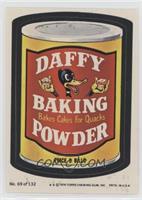Daffy Baking Powder (Two Stars)