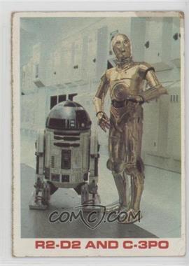 1980 Burger King Star Wars/Empire Strikes Back Everybody Wins - [Base] #R2C3 - R2-D2 and C-3PO [PoortoFair]
