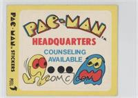Pac-Man Headquarters (No Eyes)
