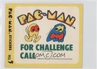 Pac-Man for Challenge Call (No Eyes)