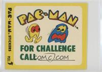 Pac-Man for Challenge Call (With Eyes)