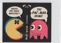 Where Are Those Monsters? - The Pac-Man Knows (With Eyes) [Good to VG…