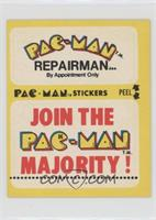 Pac-Man Repairman… (No Eyes)