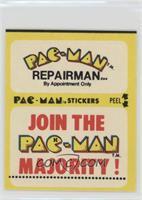 Pac-Man Repairman… (With Eyes)