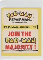 Pac-Man Repairman… (With Eyes)