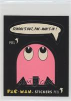 School's out, Pac-Man's in! (No Eyes)