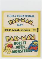 Today Is National Pac-Man Day - Pac-Man Does It with Monsters! (With Eyes)