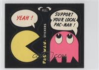 Yeah! - Support Your Local Pac-Man! (No Eyes)