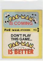 Pac-Man Is Coming - Don't Play This Game… Pac-Man Is Better (No Eyes) [Good&nbs…
