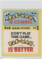Pac-Man Is Coming - Don't Play This Game… Pac-Man Is Better (With Eyes)