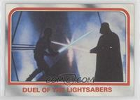 Duel of the lightsabers