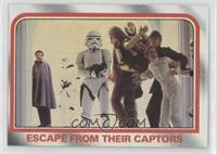 Escape from their captors