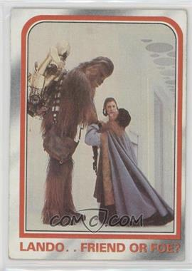 1980 Topps Star Wars: The Empire Strikes Back - [Base] #109 - Lando..friend or foe? [NoneGoodtoVG‑EX]