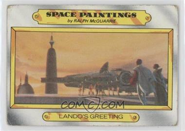 1980 Topps Star Wars: The Empire Strikes Back - [Base] #125 - Lando's greeting [PoortoFair]