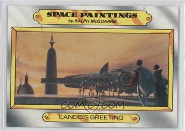 1980 Topps Star Wars: The Empire Strikes Back - [Base] #125 - Lando's greeting