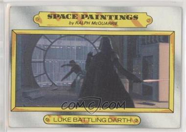 1980 Topps Star Wars: The Empire Strikes Back - [Base] #127 - Luke battling Darth [GoodtoVG‑EX]