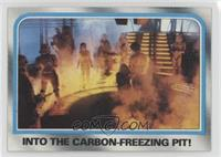 Into the carbon-freezing pit!