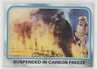 Suspended in carbon freeze