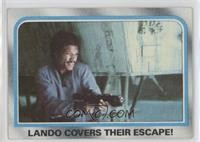 Lando Covers Their Escape!