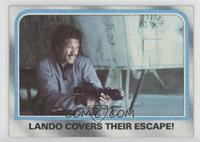 Lando Covers Their Escape!