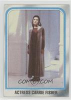 Actress Carrie Fisher [Good to VG‑EX]