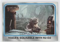 Yoda's Squabble With R2-D2 [Good to VG‑EX]