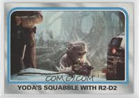 Yoda's Squabble With R2-D2