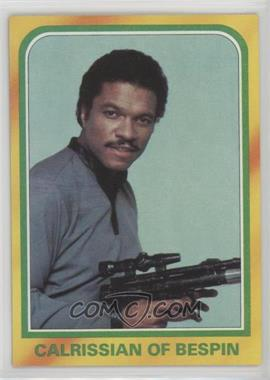 1980 Topps Star Wars: The Empire Strikes Back - [Base] #287 - Calrissian of Bespin