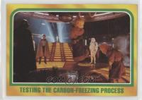 Testing the Carbon-Freezing Process