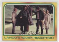 Lando's Warm Reception