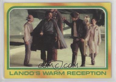 1980 Topps Star Wars: The Empire Strikes Back - [Base] #321 - Lando's Warm Reception
