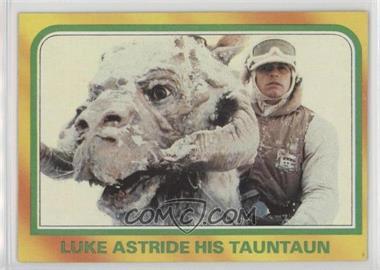 1980 Topps Star Wars: The Empire Strikes Back - [Base] #326 - Luke Astride His Tauntaun