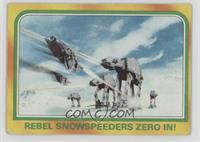 Rebel Snowspeeders Zero In! [Good to VG‑EX]