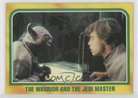 The Warrior and the Jedi Master
