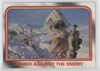 Armed against the enemy