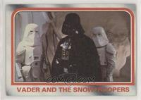 Vader and the snowtroopers