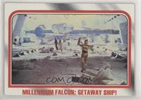 Millennium Falcon: Getaway ship!