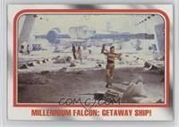 Millennium Falcon: Getaway ship! [GoodtoVG‑EX]