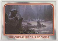 The creature called Yoda