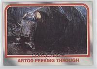 Artoo peeking through