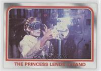 The Princess lends a hand