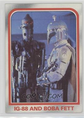 1980 Topps Star Wars: The Empire Strikes Back - [Base] #75 - IG-88 and Boba Fett