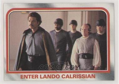 1980 Topps Star Wars: The Empire Strikes Back - [Base] #76 - Enter Lando Calrissian