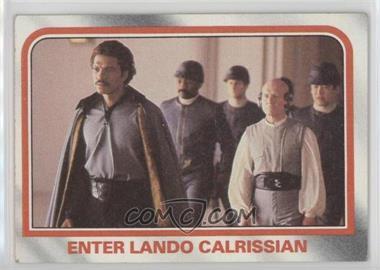1980 Topps Star Wars: The Empire Strikes Back - [Base] #76 - Enter Lando Calrissian [NoneGoodtoVG‑EX]