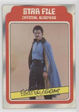 1980 Topps Star Wars: The Empire Strikes Back - [Base] #8 - Lando Calrissian [NoneGoodtoVG‑EX]