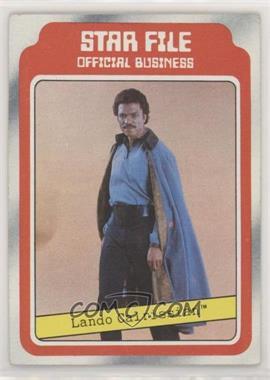 1980 Topps Star Wars: The Empire Strikes Back - [Base] #8 - Lando Calrissian